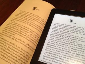Vergleich Buch/Kindle